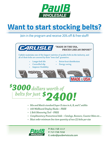 Start Stocking Carlisle Belts PDF Thumbnail