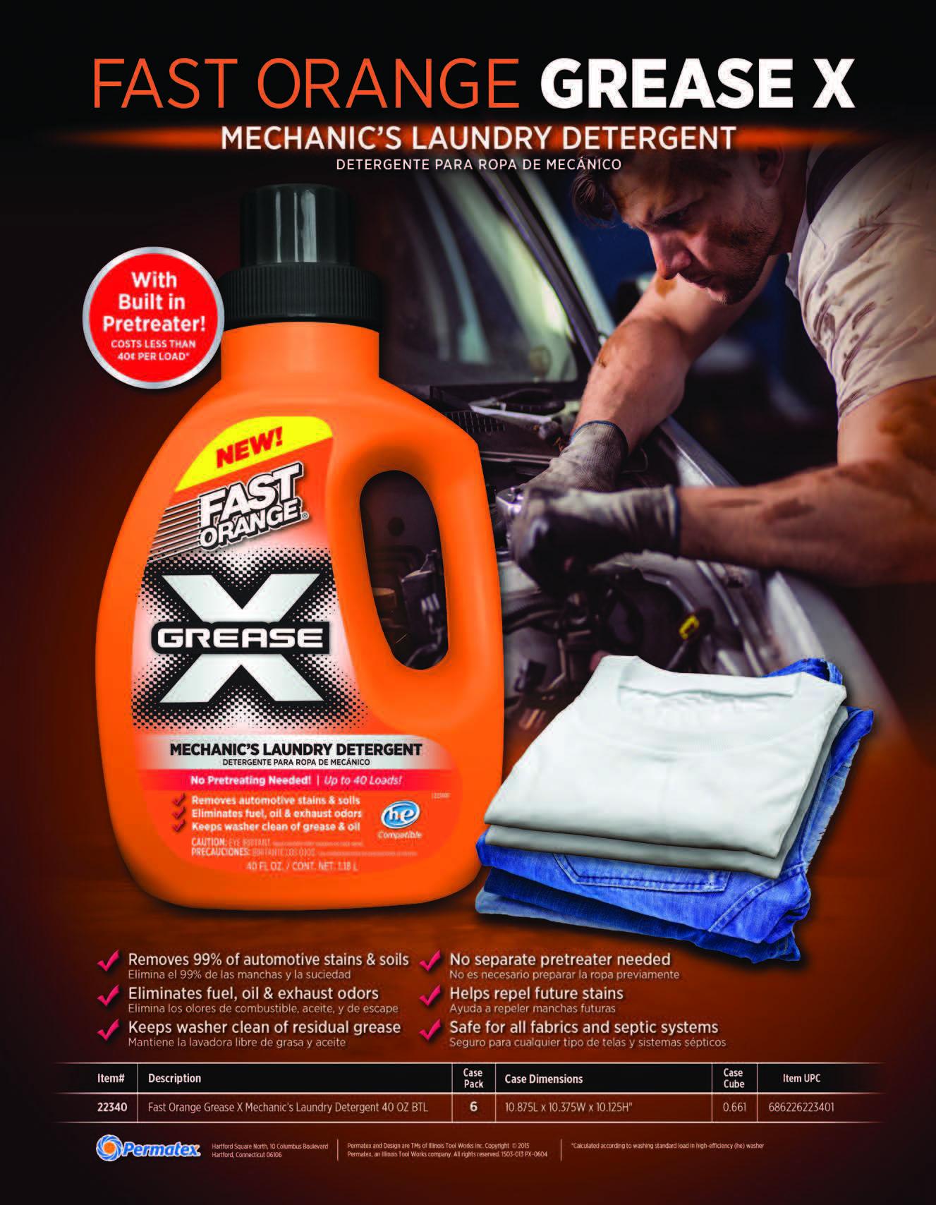 Fast Orange Mechanic's Laundry Detergent PDF Thumbnail