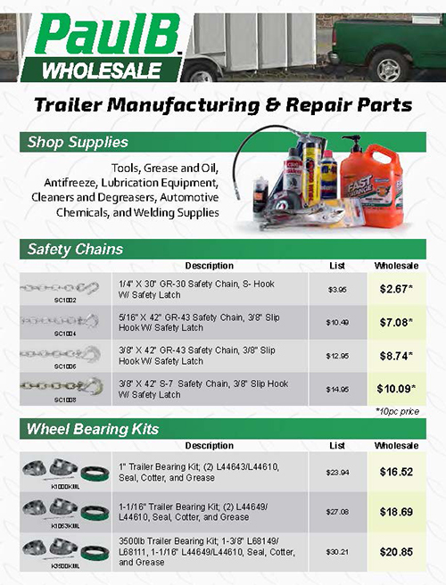 Trailer Manufacturing & Repair Parts PDF Thumbnail