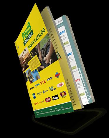 PaulB Wholesale's 2016 Parts Catalog