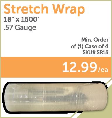 PaulB Wholesale - Stretch Wrap. 18